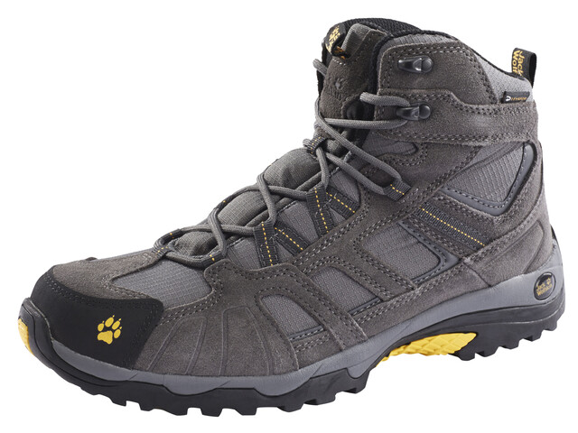Jack Wolfskin Vojo Hike Mid Texapore Shoes Men burly yellow